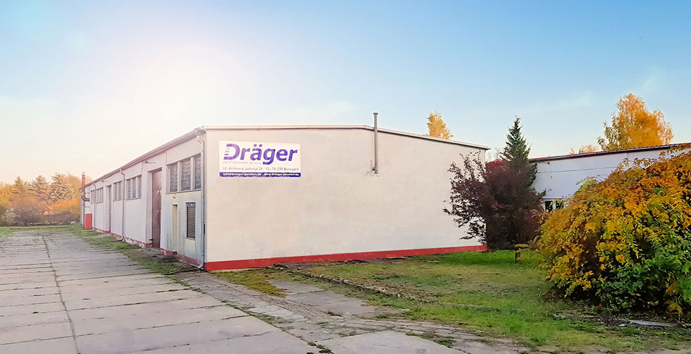 Produktionsstätte in Bialogard (Polen)